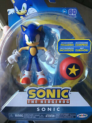 New Sonic The Hedgehog Jakks Pacific 4 Inch Star Spring Action Figure 26 99 Picclick