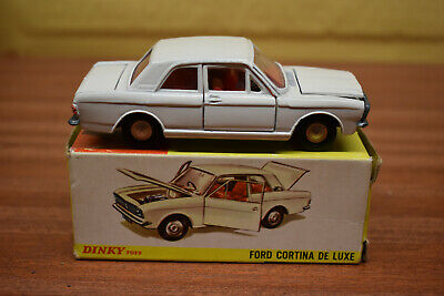Dinky 212 Ford Cortina MK1 Rally Reproduction Repro White Metal Right Hand Door