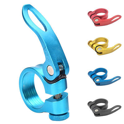 318mm 349mm MTB Bike Bicycle Cycling Saddle Seatpost Release Clamp Ne Quick W2I2