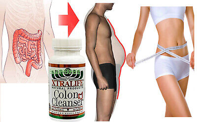 Natural Colon Detox Cleanse Rapid Weight Loss Toxin Bloating Supplement 90 Pills