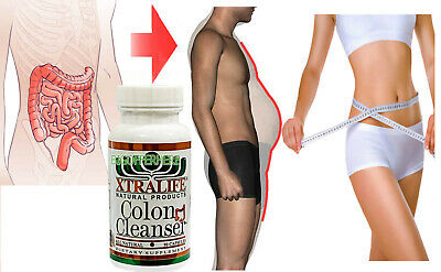 Toxin Waste DETOX & COLON CLEANSE Weight Loss Energy Burn Fat Supplement 90 Caps