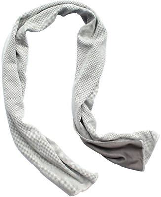 Cotton Summer Ice Silk Scarf Cold Towel Wrap 1Pc Stylish Unisex Neck Cooling LE
