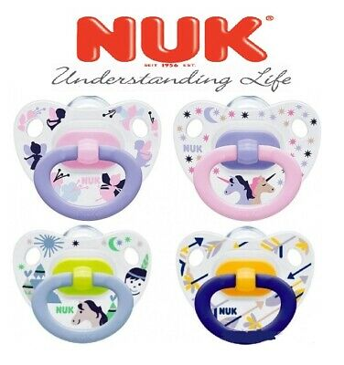 NUK Pacifier Clip Holder 0m+ Schnullerband 1x Schnullerkette