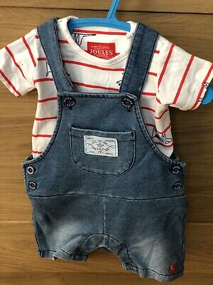 BLUE STAR STRIPE Joules Harbour Print Organically Grown Cotton Top
