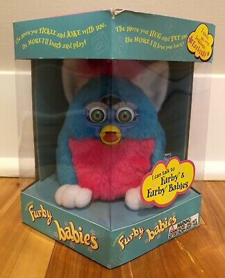 New Factory Sealed 1999 Generation 2 Primary Fuby Baby Hard2Find Neon Blue Eyes