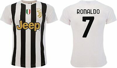 Maglietta T-Shirt Calcio Air Ronaldo Legend 7 Top Player Bianconeri CR7 Juve JJ