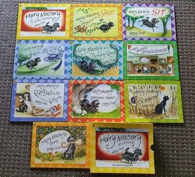 Hairy Maclary and Friends Collection Lynley Dodd 10 Books Set Pack