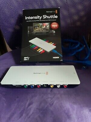 Blackmagic Design Intensity Shuttle For Usb 3 0 Bintsshu Authorized Dealer 215 00 Picclick