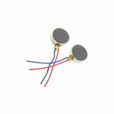 Flat 3V Coin vibration motor Micro brushed DC Adhesive back 8x3.4mm Mobile Phone
