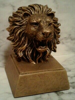 """Ebros Resin Mufasa The Wise Lion King of The Jungle Bust Decor Figurine 11.25/""""H"""
