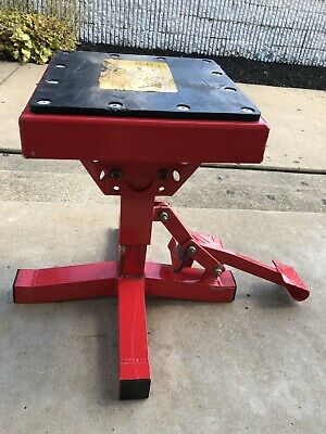 MSR Pro Lift Stand Red