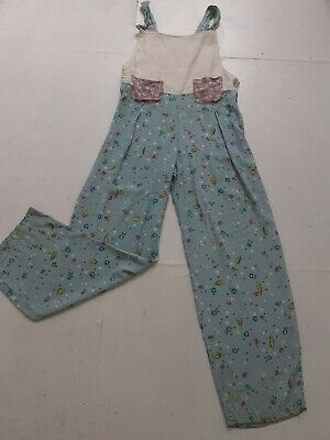 Vintage 80s Contrast Dungarees