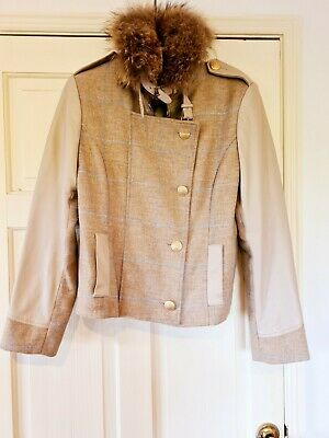 Holland Cooper Tweed Cape One Size 175 00 Picclick Uk