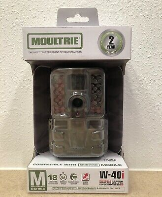 MoultrieW-40i 18MP Game Camera MCG-13239 w//New Batteries