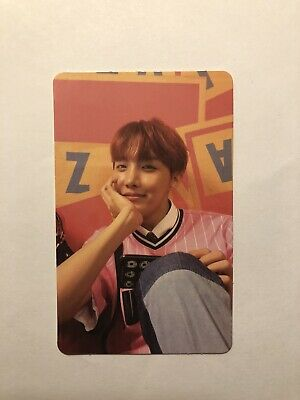 BTS j hope Photocard Love Yourself Her E version