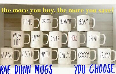 """Rae Dunn """"You Choose"""" Mugs """"Buy More, Save More"""" Will Combine Shipping"""