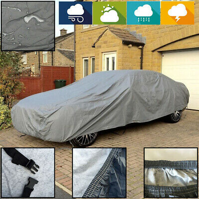 BMW M4 ALL YEARS INDOOR OUTDOOR FULLY WATERPROOF CAR COVER COTTON LINED HD