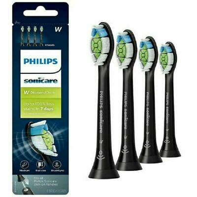 Philips Sonicare Diamond Clean Replacement Toothbrush Heads HX6064 | BLACK