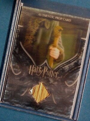 Harry Potter-3D Pt 2-GOF-Film-Movie-Screen Used-Prop Card-Durmstrang Staff-P11