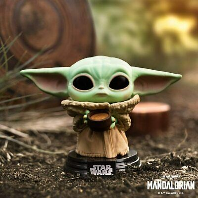 Star Wars: The Mandalorian - The Child with Cup Pop! Vinyl + Pop Protector