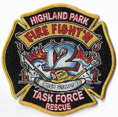 CT Rescue 1 Bulldog  Fire Patch Stamford