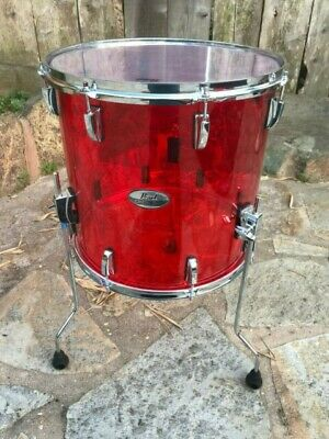 "CRB1208T//C731 Pearl Crystal Beat 12/""x8/"" Tom RUBY RED"