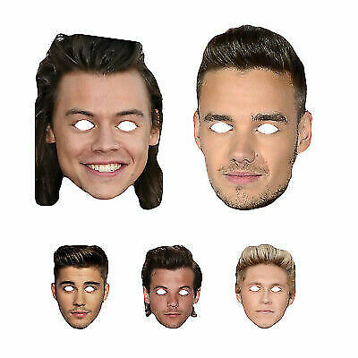 Niall Horan of One Direction Celebrity Face Mask Fancy Dress Parties etc New