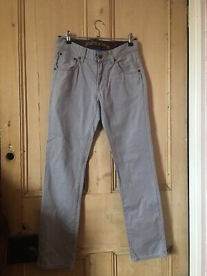 Johnnie B Boden Boys Grey Jeans, Size 28R, Excellent Condition, Pockets