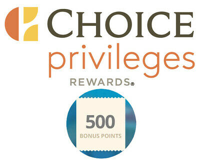 Choice hotels 500 points upon completion of first stay Travel Trip Choicehotels