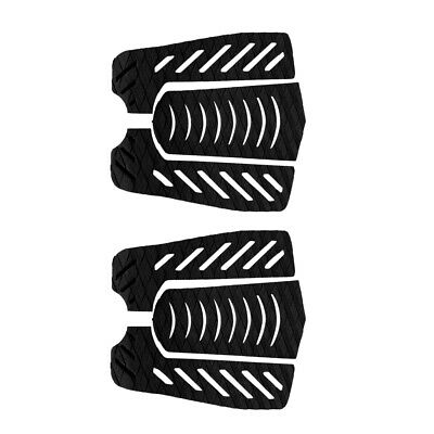 2 set of 6pcs Premium Surfing Surfboard EVA Traction Tail Pads Deck Grips