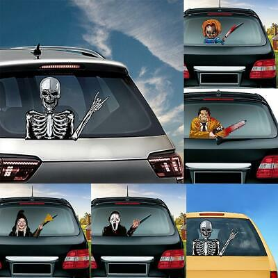 Halloween Car Decoration Rear Vehicle Car Window Scary Clown Tag Decal Sticker 8 94 Picclick Uk