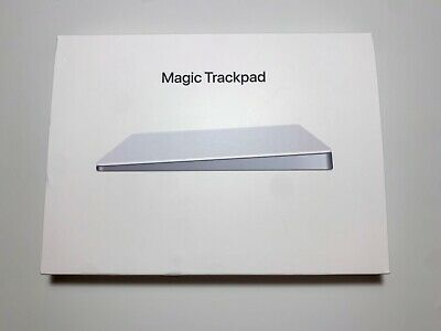 Apple Magic Trackpad 2 - Silver (MJ2R2LL/A, A1535, Excellent Condition)