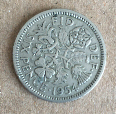 Lucky Sixpence. Elizabeth II Coin Choose your year! Circulated Condition. 6D