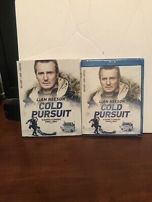 Cold Pursuit Blu-ray +DVD +Digital With Slip Cover,Best Action Movie Of The Yea