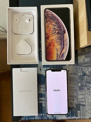 Apple iPhone XS Max - 64GB - Gold (Unlocked) A2101 (GSM) No Face ID