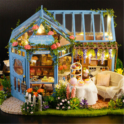 DIY Handcraft Miniature Project Wooden Dolls House My Little Villa Toys Gifts UK