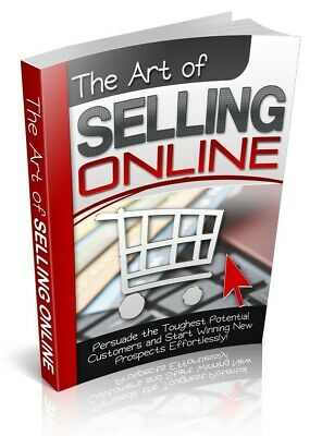 NEW The Art of Selling OnlineE BOOK PDF WITH RESELL RIGHTS DELIVERY 12hrs