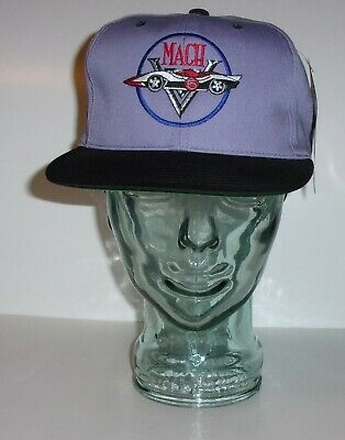 Rare Speed Racer MACH 5 Snap-back Hat Cap 1994 AMERICAN NEEDLE Mint Condition
