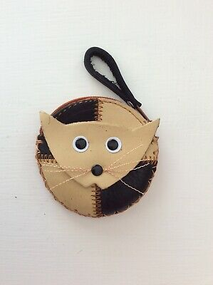 Small (Kitten)leather Coin Purse