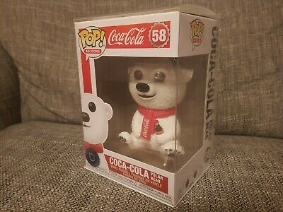 Funko Pop Coca-Cola Polar Bear #58 Ad Icons Vinyl Boxed Rare Bundle Available