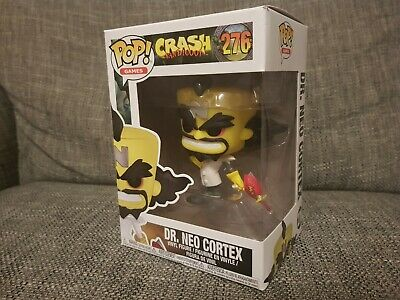 Funko Pop Dr. Neo Cotex #226 Crash Bandicoot Games Vinyl Boxed Bundle Available