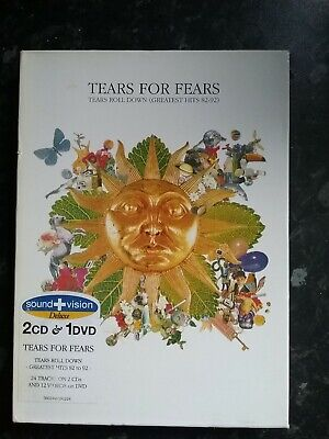 Tears For Fears Tears Roll Down- Greatest Hits 82-92 Sound Vision Deluxe 2CD+DVD