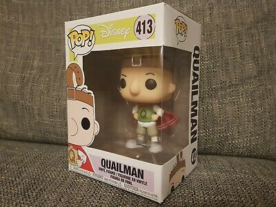 Funko Pop Quailman #413 Disney Doug Animation Vinyl Boxed Rare Bundle Available