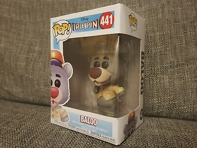 Funko Pop Baloo #441 Disney Talespin Animation Vinyl Boxed Rare Bundle Available