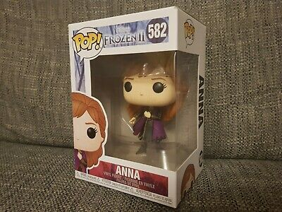 Funko Pop Anna #582 Disney Frozen II Movies Vinyl Boxed Rare Bundle Available