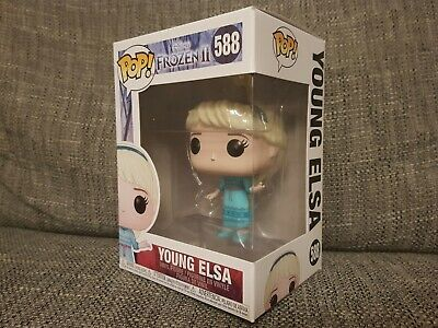 Funko Pop Young Elsa #588 Disney Frozen II Movies Vinyl Boxed Bundle Available
