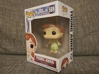 Funko Pop Young Anna #589 Disney Frozen II Movies Vinyl Boxed Bundle Available