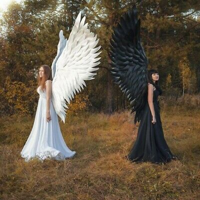 Halloween 3D Angel Devil Big Wings Cosplay Large Wings For Human & Child 🎃🎃