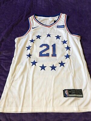Maillot Nba Joel Embiid Philadelphie Sixers - Taille 48