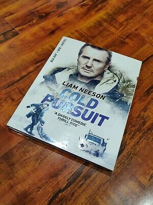 Cold Pursuit (BLU-RAY + DVD + DIGITAL+SLIPCOVER) NEW - Free SHIPPING